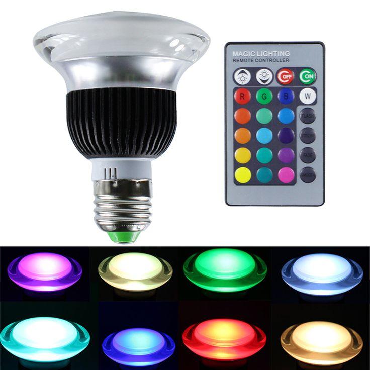 $22.33 (Buy here: https://alitems.com/g/1e8d114494ebda23ff8b16525dc3e8/?i=5&ulp=https%3A%2F%2Fwww.aliexpress.com%2Fitem%2FAC85-265V-Dimmable-10W-E27-E14-RGB-LED-Light-Bulb-Mushroom-Shape-Disco-Lighting-Party-Lamp%2F32544177876.html ) AC85-265V Dimmable 10W E27 E14 RGB LED Light Bulb Mushroom Shape Disco Lighting Party Lamp with Remote Control fr KTV Restaurant for just $22.33