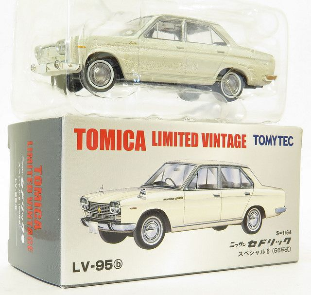 1/64 diecast collector: LV-95b - NISSAN CEDRIC SPECIAL 6