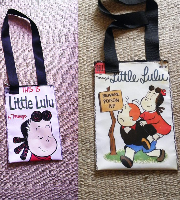 PLASTIC BAG, WITH LITTLE LULU PRINTED, TWO SIDES, WATERPROOF