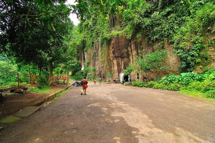 Dutch Cave in Bandung, West Java, Indonesia.