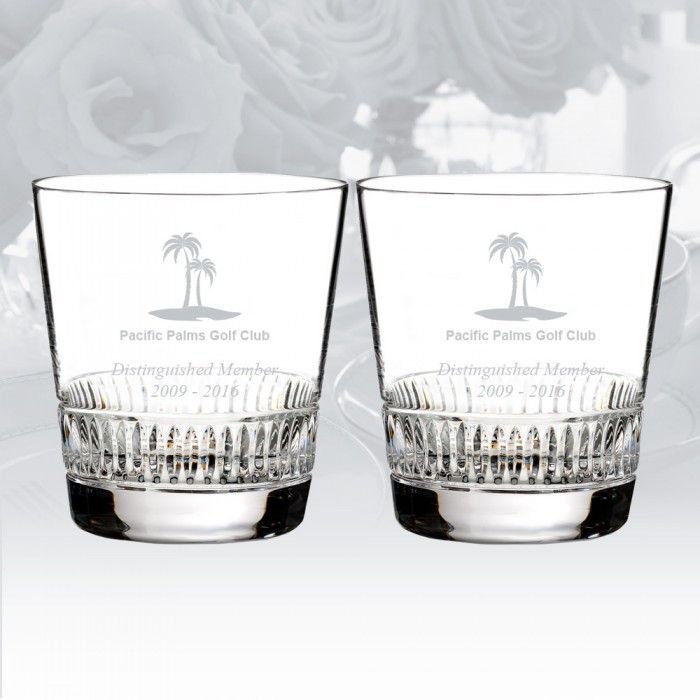 The Waterford Town & Country Ashton Lane Tumbler Pair ($95)