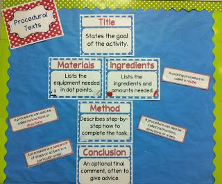 Freebie for Procedural Text