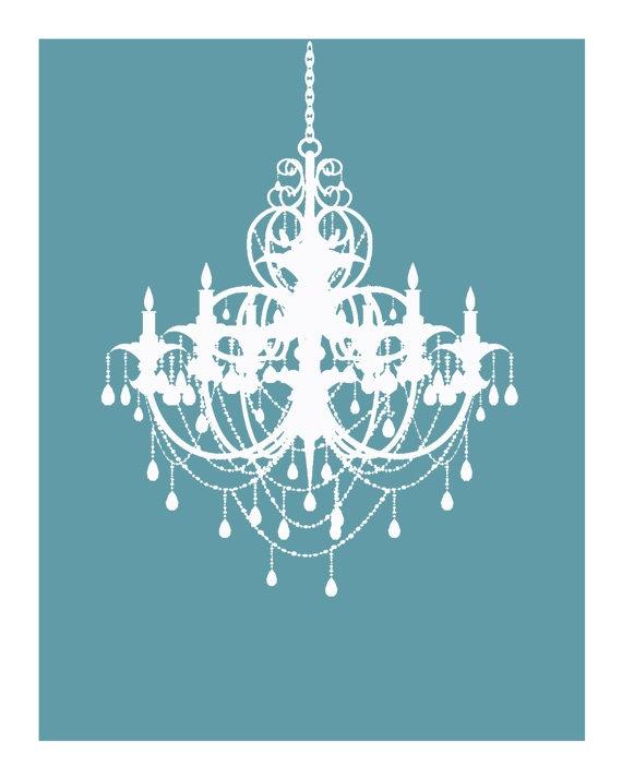 blue chandelier wallpaper - photo #14