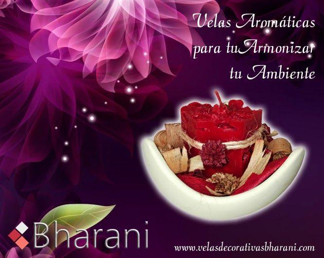 Velas Bharani: Velas decorativas y aromáticas para armonizar tu h...