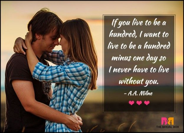 Love Quotes For Her - A Hundred Minus One Day