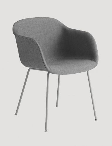The Fiber chair has been designed to balance maximum comfort with minimum space. The chair has been produced from an innovative bio-composite material that includes 25% wood fibres. From a distance, the shell appears to be normal smooth plastic, however, when viewed up close the tiny pieces of the wooden fibres become apparent, giving the chair a whole new character. With the addition of four different bases, Fiber has flourished into a fully-fledged family of 39 chairs, confident of…