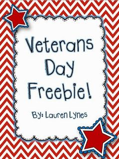 A Veterans Day Freebie for You!