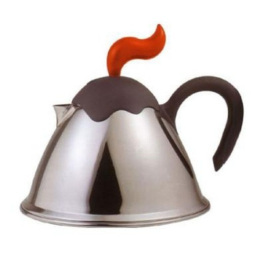 Czajnik VULCANO z Gwizdkiem Indukcja: Teas Time, Casa Bugatti, Cordless Kettles, Vesuvius Teas, Stove Tops, 15Liter Stovetop, Stovetop Kettles, Tea Kettles, Teas Kettles