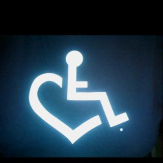 wheelchair love. Thinking of my brother :)