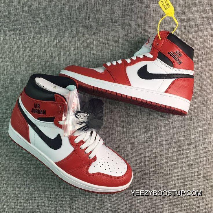 on sale d7ffa 12f32 Nehmen Billig Hoch Schwarz Weiß Billig Schuhe Deal Air Jordan 1 555088006