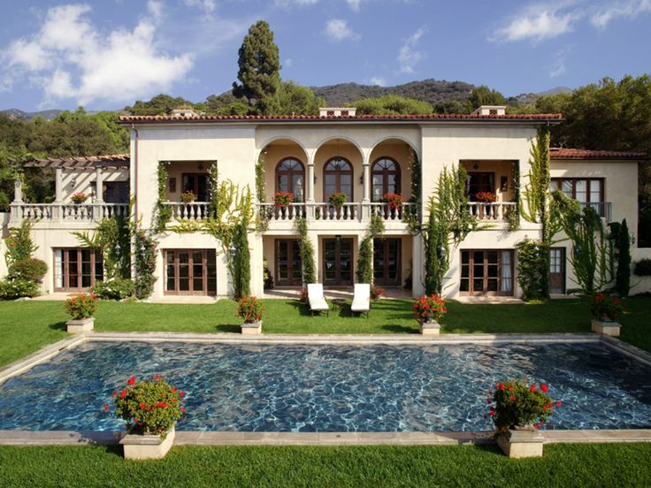 246 best images about mediterranean homes on pinterest for Classic mediterranean house