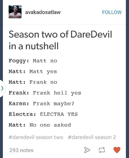 Netflix Daredevil Season 2