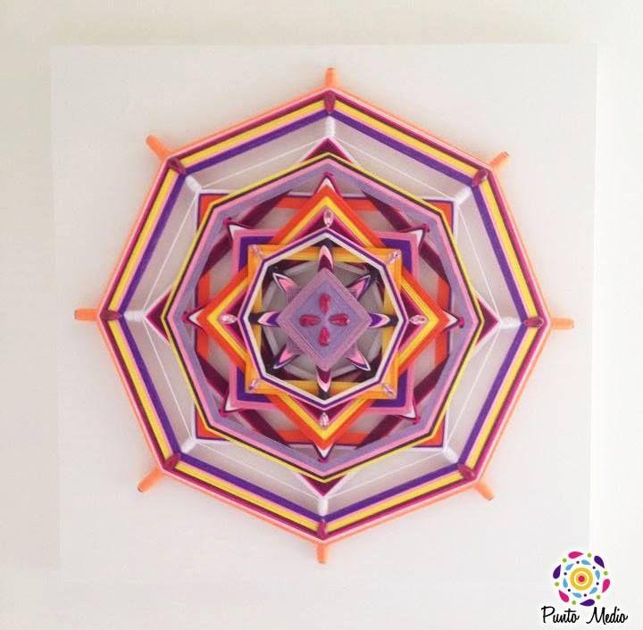 Mandala luz & otoño. www.facebook.com/Ptomedio