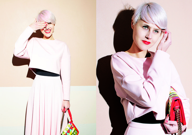 Glamour Italia   Linda Tol   I Believe in Pink