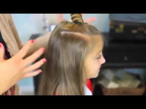 Bantu Knot Curls | Easy No-Heat Curls | Cute Girls Hairstyles - YouTube