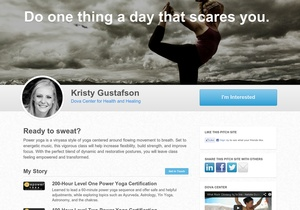 """""""Do one thing a day that scares you."""" Come join me, Kristy Gustafson, for some awesome power yoga every Tuesday, Wednesday, and Thursday at the Dova Center in Louisville, CO :)"""