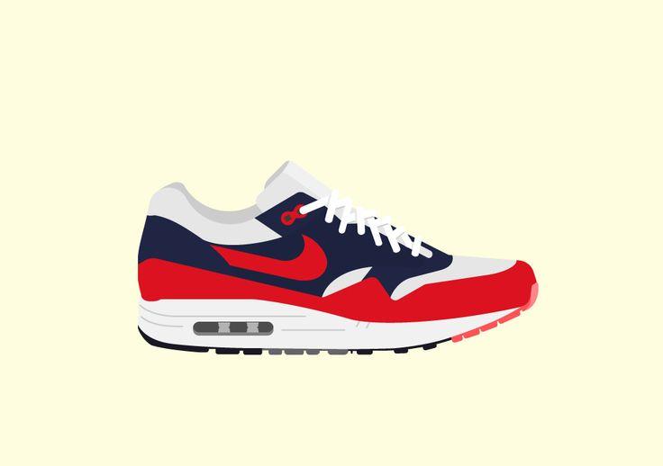 Final Phase: Nike Airmax 1 Illustration