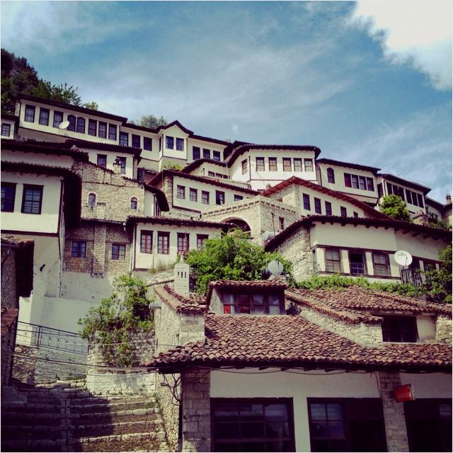 Albania - Berat Houses