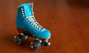Groupon - Roller Rink Package with Skate Rental and Indoor Ride Tickets for 2 or 4 at Rolling Thunder Skating Center (41% Off) in Mayfair. Groupon deal price: $19