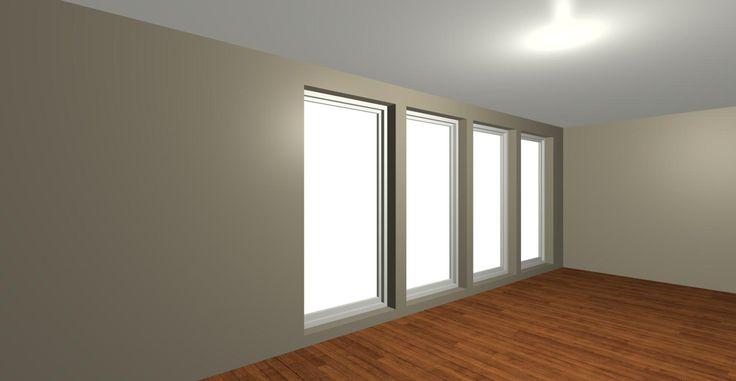 Trimless windows