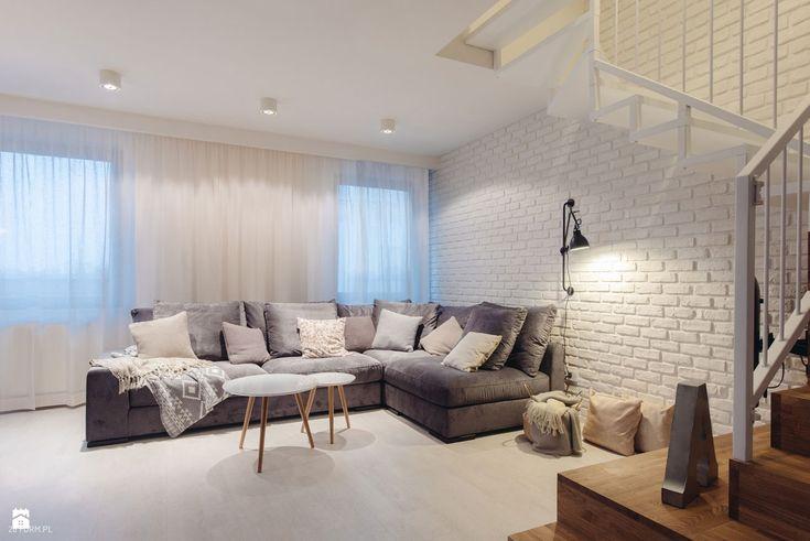 Mieszkanie we Wrocławiu 2016 - zdjęcie od 28 FORM - Salon - Styl Skandynawski - 28 FORM