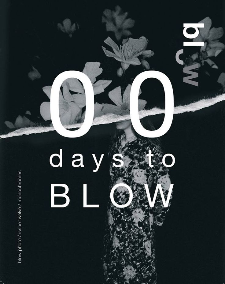 00 days to BLOW Photo // issue 12 'monochromes' out now // First copies launched today MAY 28 at @fotofestlodz  order here and get complimentary BLOW issue 12 cover poster while stocks last. all issues are limited editions of 1,000 and numbered #BLOWPhotoNews‬ #BLOWissue #monochromes