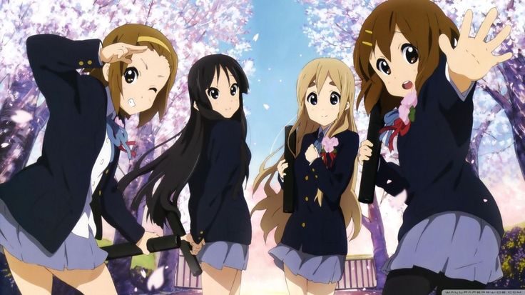 K-On! Wallpapers - Wallpaper Cave