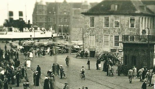 Havneområde-stemning...1939