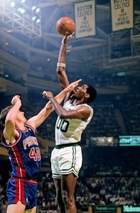 Boston Celtics Robert Parish photographs