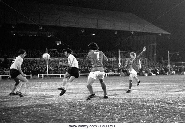 Denis Law against Watford 1969