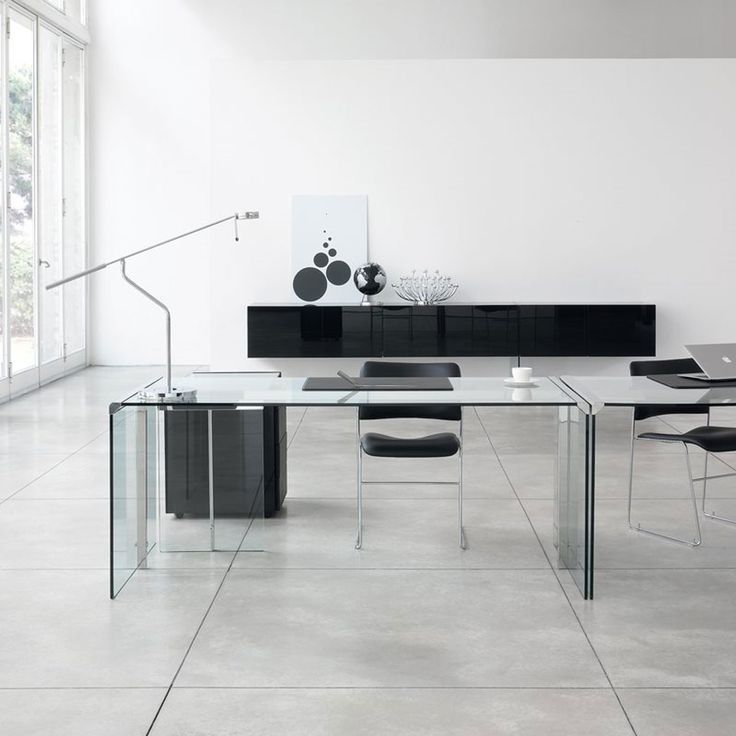 25 best glass desks images on pinterest | glass desk, glass