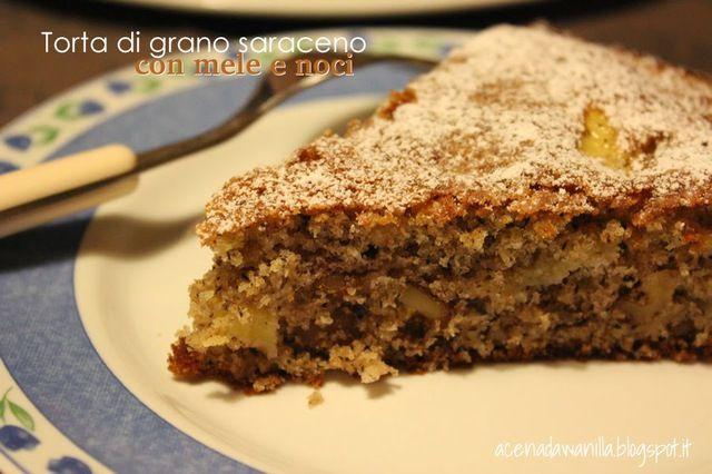 Torta di grano saraceno con mele e noci - myTaste.it