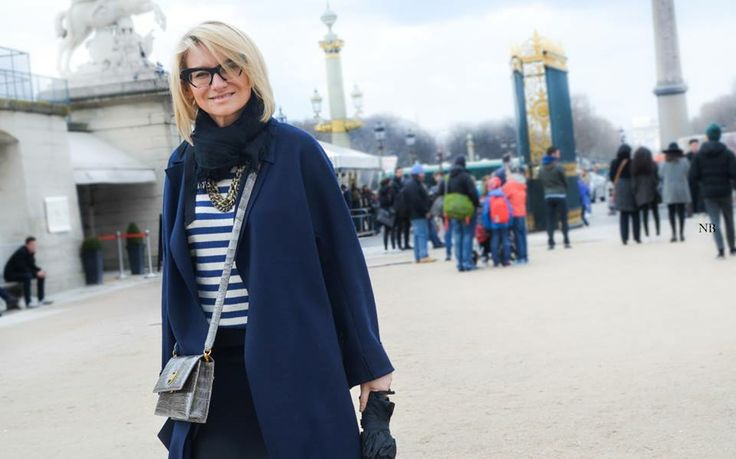 Эвелина Хромченко на неделе моды в Париже