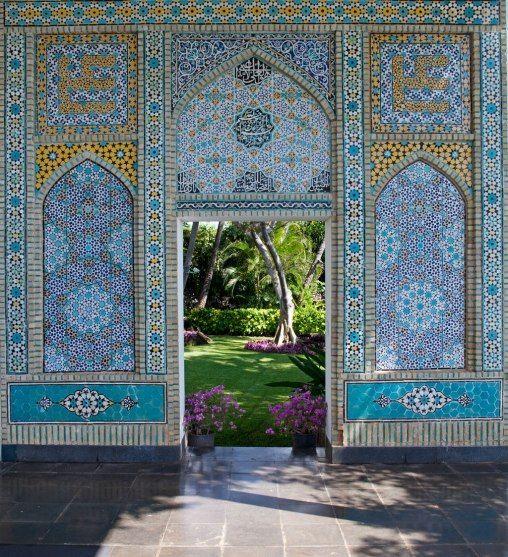 Shangri La in Oahu, Hawaii : Doris Duke's Palace in Paradise