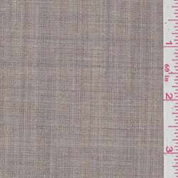 Fawn Grey Wool Suiting