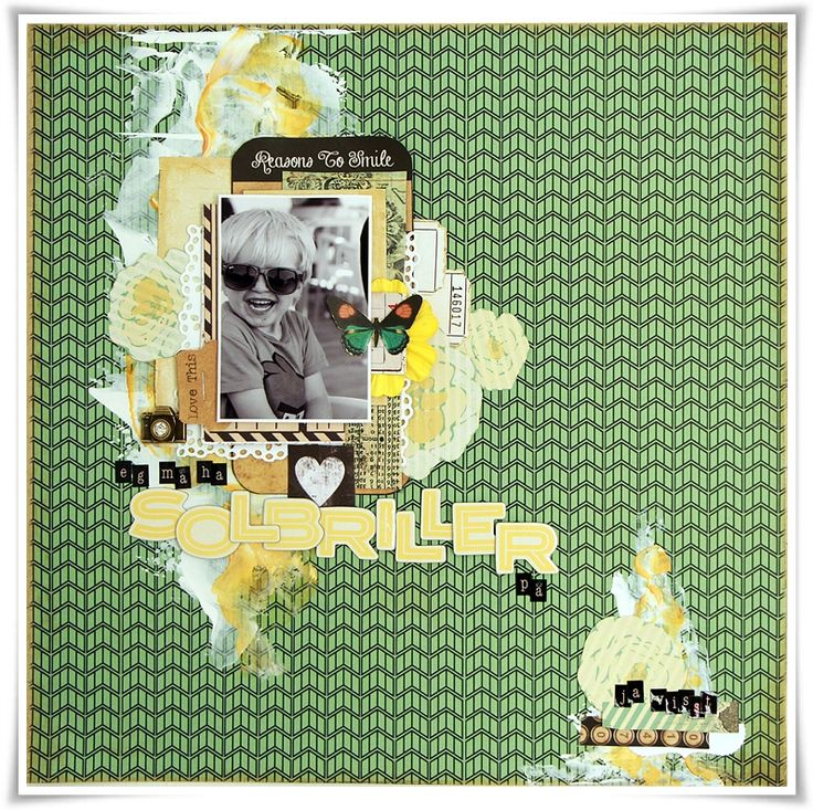 Layout made as DT Marion Smith Designs