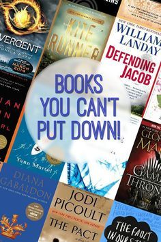 A GREAT list of books that are impossible to put down! If you want a book that will keep you up reading until WAAAY too late, this list is perfect! Tons of great suggestions.