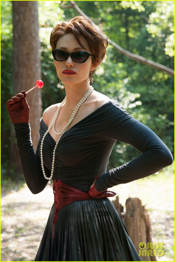 Emmy Rossum as Ridley Duchannes in #BeautifulCreatures