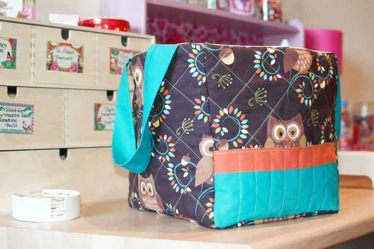 Fabric storage bag