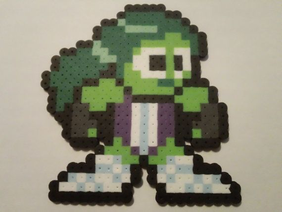 Hey, I found this really awesome Etsy listing at https://www.etsy.com/listing/156863227/she-hulk-bead-sprite-necklace-from