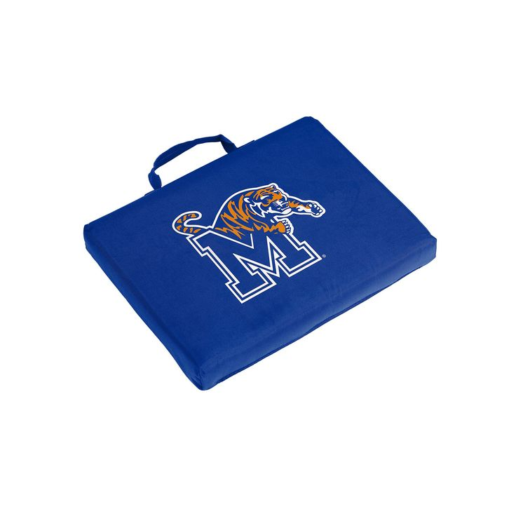 Logo Brand Memphis Tigers Bleacher Cushion, Multicolor
