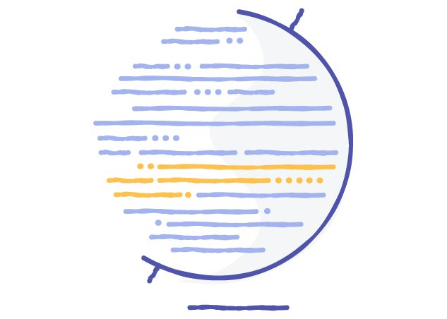 Diagram of Communication illustration