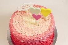 5 years wedding anniversary cake