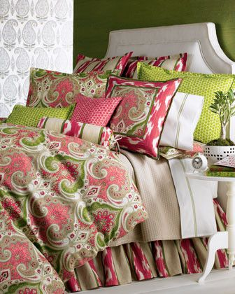 LEGACY Pattern Play Bed Linens King Paisley Duvet Cover - traditional - duvet covers - Horchow