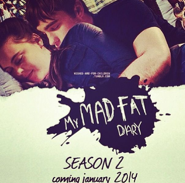 MY MAD FAT DIARY! Oh my god I can't wait for this too start!!! Like my favourite show ever a part from MisFits, love that show too much!
