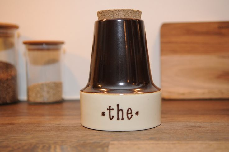 Søholm tea jav with cork by nORDICbYhEART on Etsy