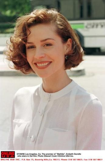 Lol okay, had to. Embeth Davidtz