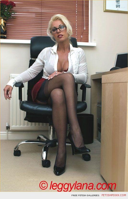 Leggy Lana office