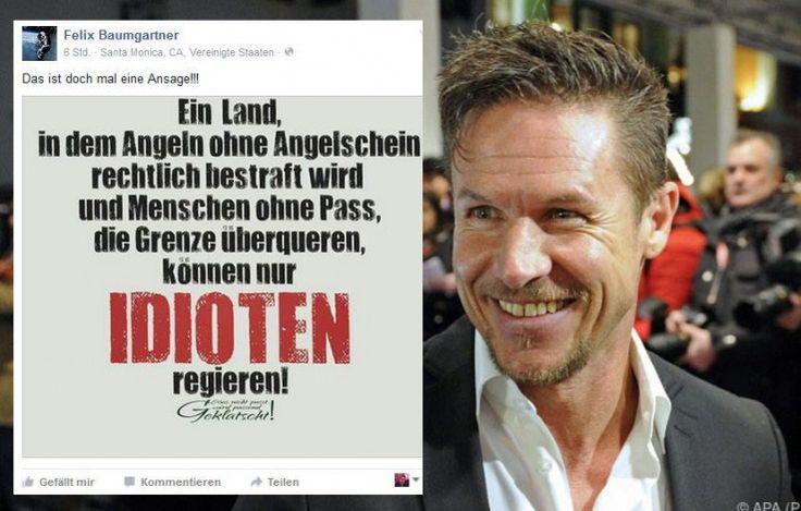 Felix Baumgartner hat es wieder einmal getan. Der Extremsportler hat sich in einem Facebook-Posting sehr kritisch zur aktuellen Asylpolitik in Österreich geäußert. Damit hat er einen heftigen Shitstorm gegen seine Person ausgelöst. Doch ist die harte Kritik an Baumgartner wirklich gerechtfertigt?