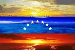 Flag of Venezuela Skyline